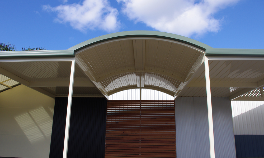 Curved Roof Victory Home Improvements
